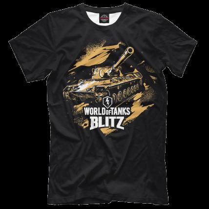 Футболка WoT Blitz «Стремительный Леопард»
