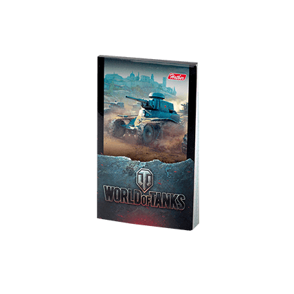 Блокнот World of Tanks (А7)