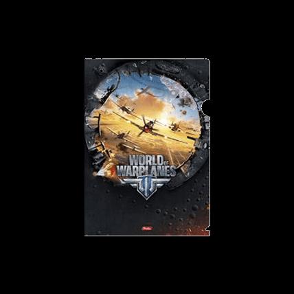 Папка-Уголок World Of Warplanes пластиковая
